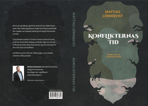 Omslaget till Konflikternas tid, bok 2 i Oldenasagan